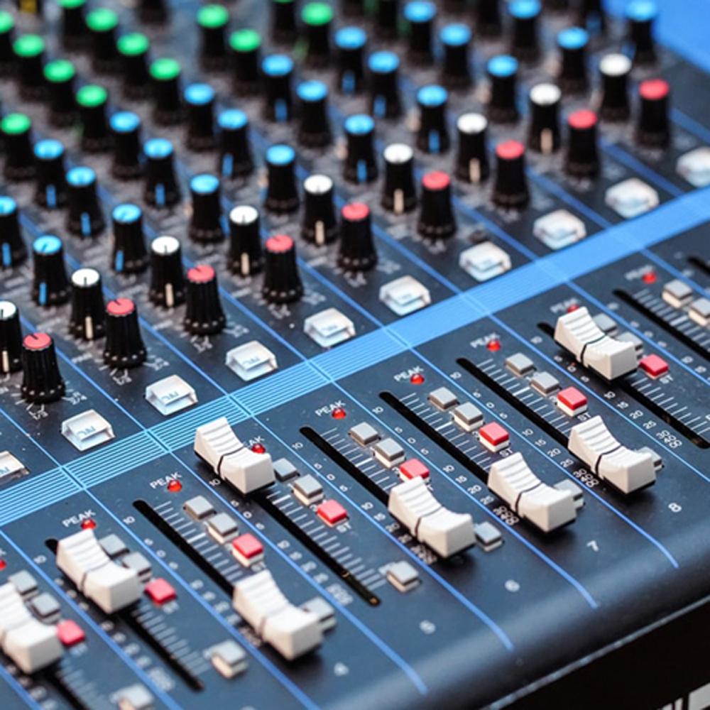 Audio Mixers / Mixing Consoles
