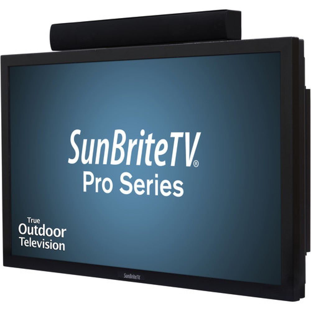 Professional TV monitor available up to 85′ with stand